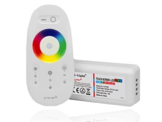 RGB LED Controller inkl. Touch Fernbedienung 2,4GHz 1 Kanal