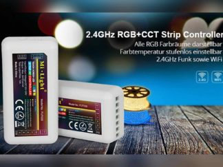 Funk Controller LED RGB+CCT LED 2,4 GHz - 4Kanal WLAN ready
